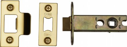 M Marcus York Security YKAL3-PB Architectural Mortice Latch 76mm Polished Brass